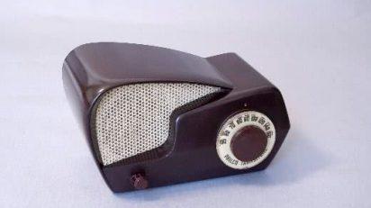 "Radio Philco. Transitone. Model 49-501 ""Boomerang"" 1949."