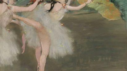 Edgar Degas. Danseuses en blanc. Circa 1878. Estimate $18/25 million.