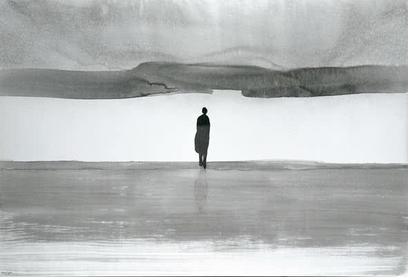 Gao Xingjian. L'Attente. 2009.