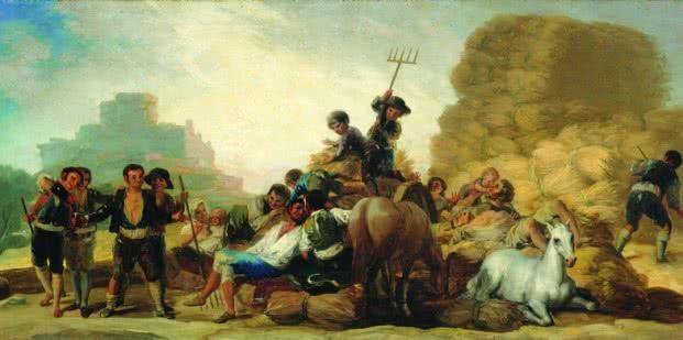 Francisco de Goya. La era o El verano, 1786.