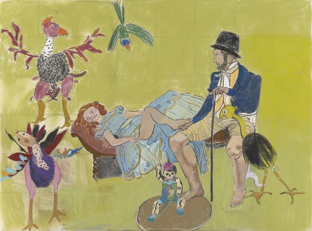 Paula Rego. Dream of paradise, 2015.