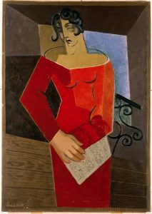 Juan Gris, La Chanteuse, 1926. Óleo sobre lienzo, 116 x 88,4 cm.