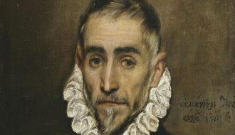 El Greco. Caballero anciano. Óleo sobre lienzo. 46 x 43 cm. Museo Nacional del Prado, Madrid. © Museo Nacional del Prado.