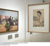 Exposición 'Verso / Reverso' de Andrzej Wróblewski.