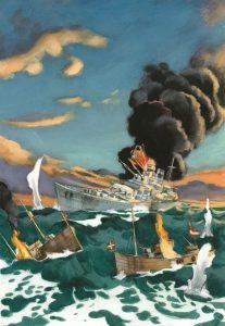 Fernando Vicente. Guerra en el mar.
