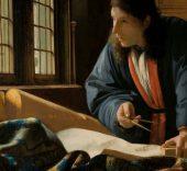 Johannes Vermeer. The Geographer, 1669. Frankfurt am Main, Städel Museum.