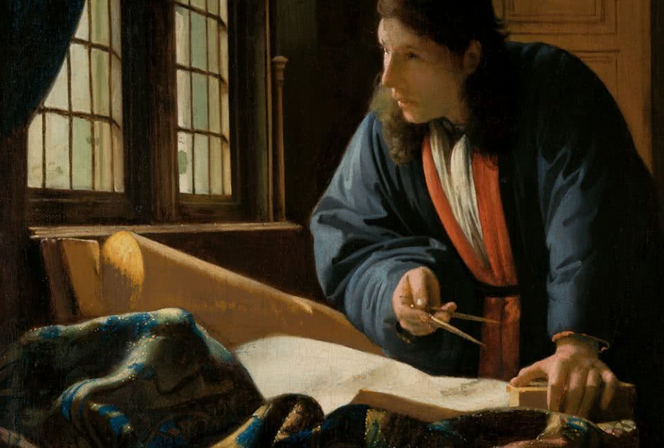 Johannes Vermeer. The Geographer, 1669. Frankfurt am Main, Städel Museum.