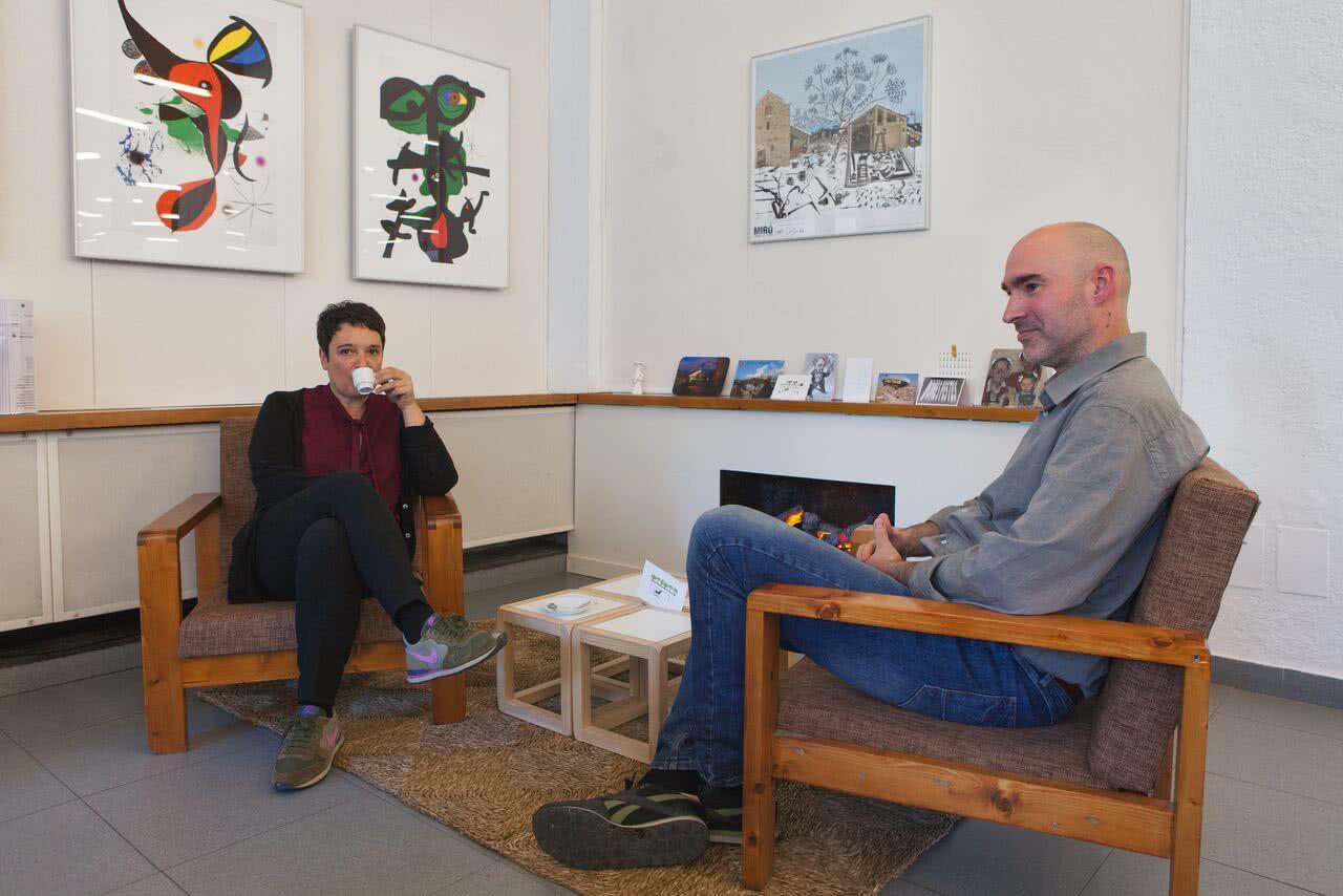Rafel G. Bianchi y Regina Giménez. Art de foc, art de badoc.