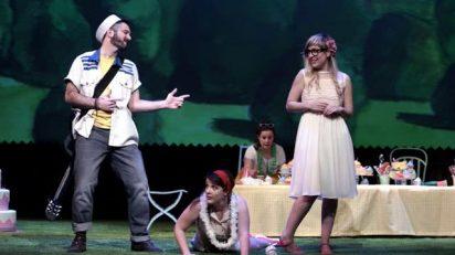 Diego Blázquez (Eneas) y Adriana Mayer (Dido). Foto: Javier del Real.