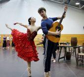'Don Quijote' (ensayo). Foto: Sonia Aguilera.