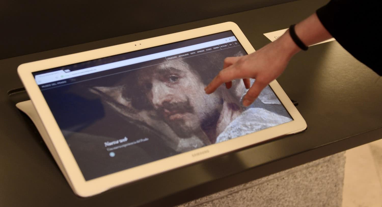Imagen punto de acceso web. Foto: Museo del Prado.