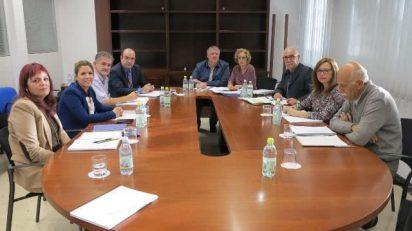 Integrantes del Consejo de Administración del CAAM en su primera reunión.