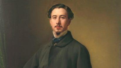 Jaime Girona y Agrafel (detalle). Federico de Madrazo. Óleo sobre lienzo, 123 x 90 cm. Madrid, Museo Nacional del Prado.