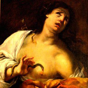 Luca Ferrari. Cleopatra, 1650.