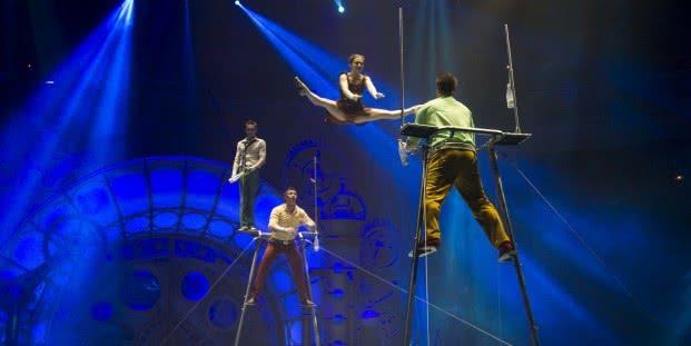 Navidades Circo Price. Foto: Blanca Serrano.