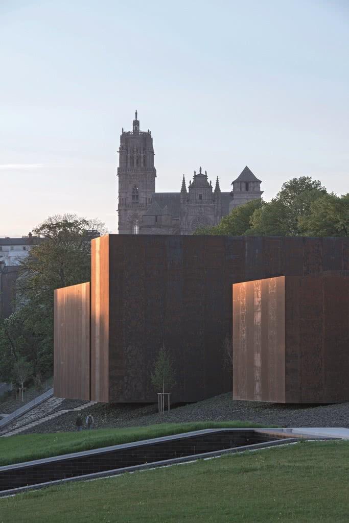 rcr arquitectes muse soulages rodez francia foto pep sau