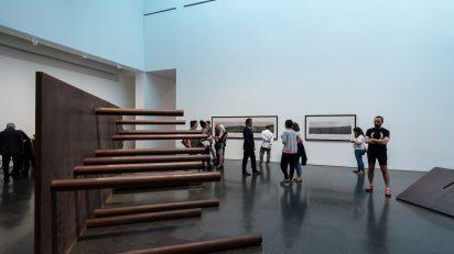 Vistas de la exposición 'Sergi Aguilar. Reverso/Anverso (1972-2015)', 2015. Foto: Roberto Ruiz.