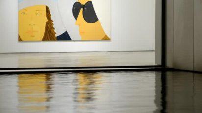 Alex Katz. 'Portraits'.