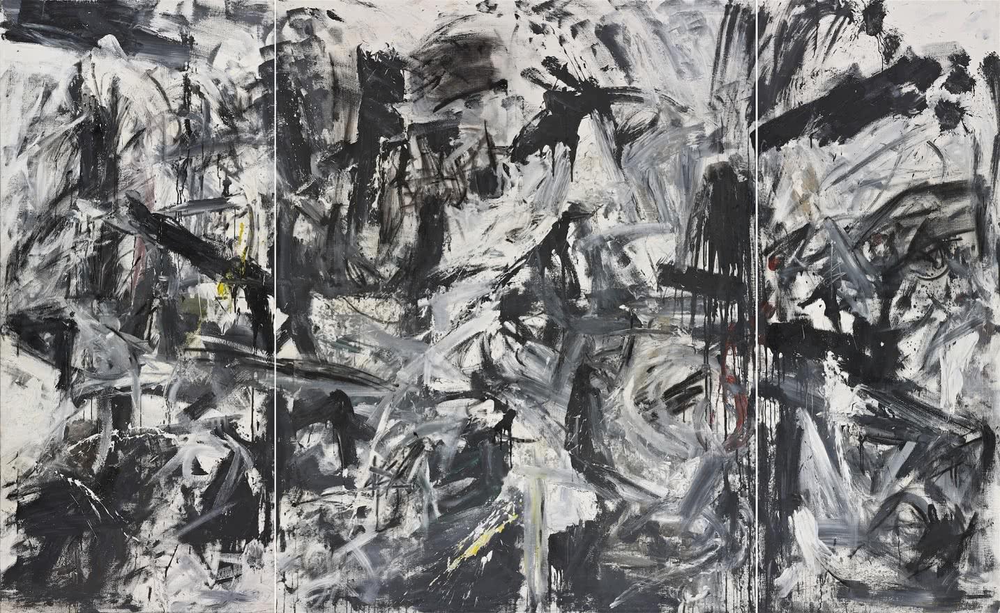Emilio Vedova. Scontro di Situazioni '59-I-1 (Choque de situaciones '59-I-1). 1959. Fondation Gandur pour l'Art, Ginebra. Foto: Sandra Pointet.