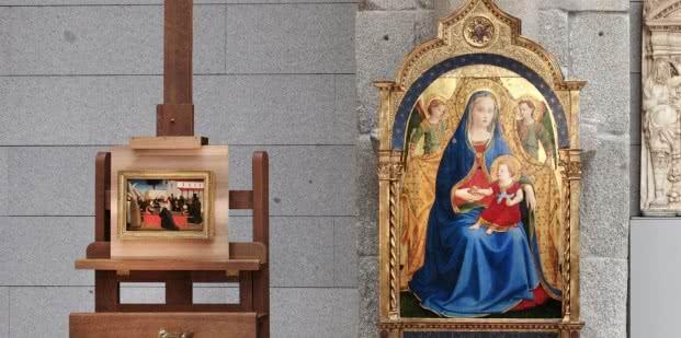 Rueda de prensa de la adquisición de obra de Fra Angélico por el Museo del Prado.