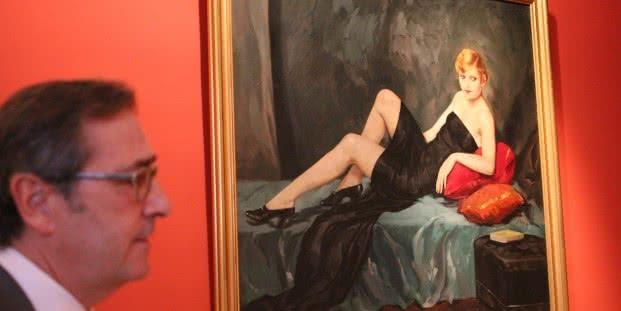 Vista de la exposición La Mujer Ochoa. Modernismo y modernidad. Museo Cerralbo. Foto: Luis Martín.