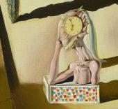 Salvador Dalí (detalle). L'homme poisson, 1930.