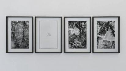 Antonio Rovaldi. Esistono luoghi dove il sole brilla eternamente, #2. 2015. 4 fotografías en b/n sobre papel baritado. 50 x 36,5 cm.