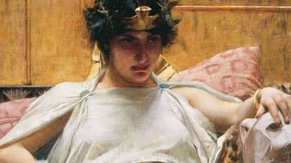 John William Waterhouse. Cleopatra, 1887.