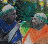 Picasso et Jacques Couelle, 1960.