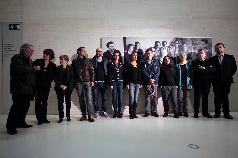Presentación de la exposición '1966 | Gaur Konstelazioak | 2016'. Fotografía: Oskar Moreno.