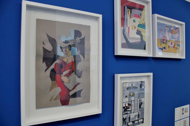 Exposición 'El arte en el cómic'. Foto: Sonia Aguilera.