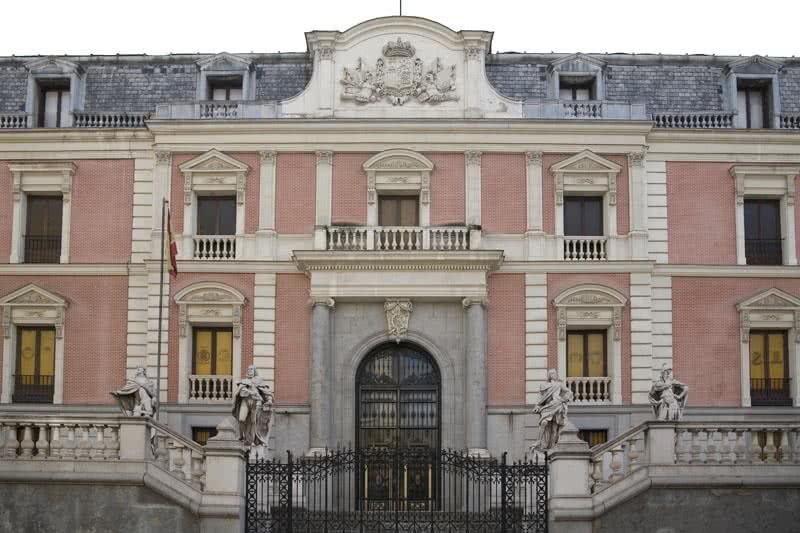 Exterior Salon de Reinos Foto Museo Nacional del Prado