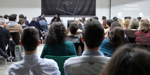 Presentación del Proyecto Hoy. Foto: Sonia Aguilera.
