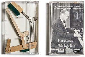 Javier Maderuelo, Pieza para piano. Galería Estampa. Ediciones de Arte Contemporáneo, 1990. Propiedad particular.
