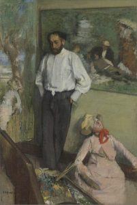 Edgar Degas, 'Retrato de Henri Michel-Lévy', Francia, ca. 1878. Museo Calouste Gulbenkian - Fundação Calouste Gulbenkian © Museo Calouste Gulbenkian.