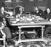 1931. Gobierno Provisional de la II República, presidido por Niceto Alcalá Zamora.