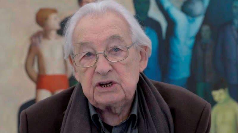 Andrzej Wajda, 2016. Cortesía Adam Mickiewicz Institute. Polonia.