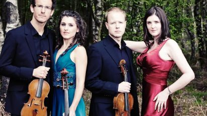 Carducci String Quartet. Foto: Andy Holdsworth.