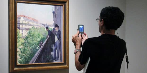 Exposición 'Caillebotte, pintor y jardinero'. Foto: Sonia Aguilera.