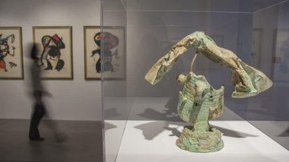 Exposición 'Huellas de tinta. Joan Miró en la Colección Würth'. Foto: Laura Peña.