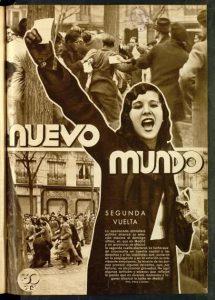 Nuevo Mundo. Madrid, 1933. Exposición 'Ellas sufragistas'.