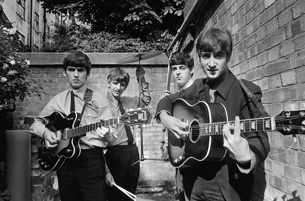 The Beatles. Foto: Terry O'Neill.