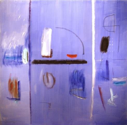 Albert Ráfols Casamada. 'Construccio' (2003). Pintura sobre lienzo.