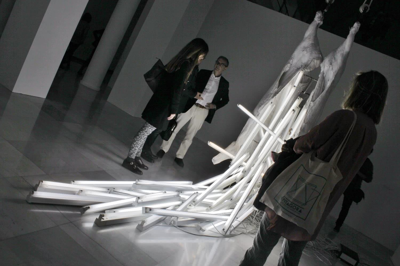 Exposición 'Bernardí Roig. Cuidado con la cabeza'. Foto: Sonia Aguilera.