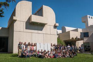 Equipo de la Fundació Miró. 2015. Foto: Pep Herrero.