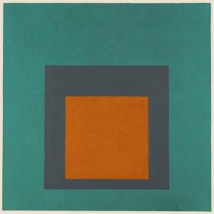 Josef Albers. Homage to he Square, 1965.