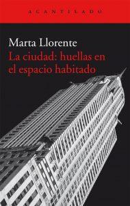 Marta Llorente La ciudad