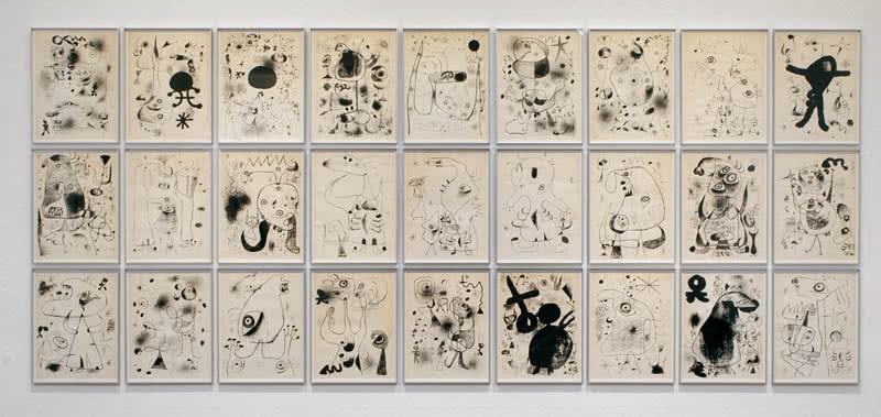 Serie Barcelona. Joan Miró, 1944.
