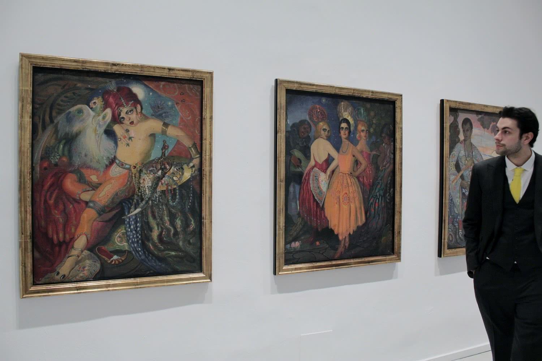 Exposición 'Wifredo Lam'. Foto: Sonia Aguilera.