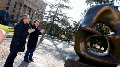 Henry Moore en Salamanca.